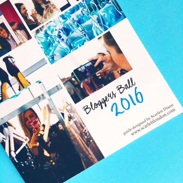 So...? Bloggers Ball 2016