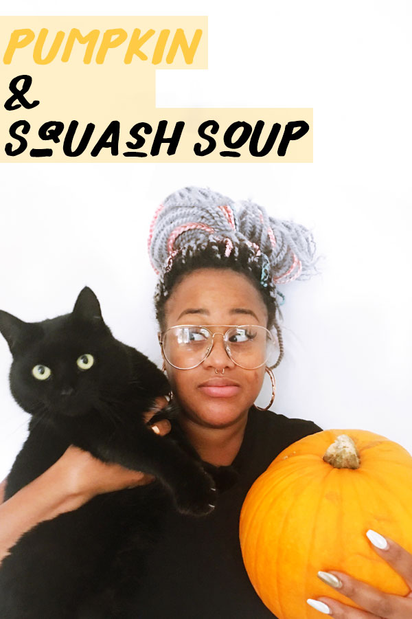 With an abundance of Pumpkins in stores, I thought it seemed fitting to ask a foodie to create a soup based around this magnificent vegetable.