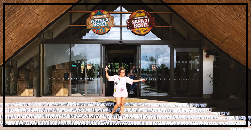 Chessington Azteca Hotel and Chessington World of Adventures