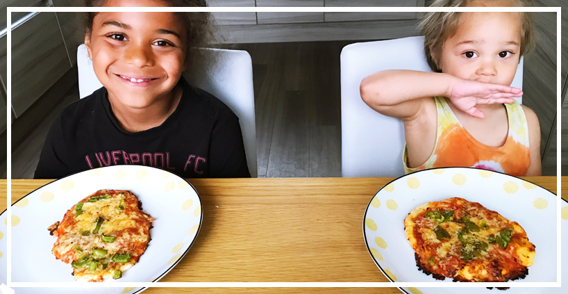 Kids Dairy Free Pizza – Allergy Awareness Week