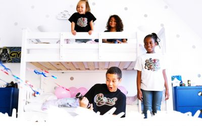 Dragons & Daisies Streetwear For Kids & Adults