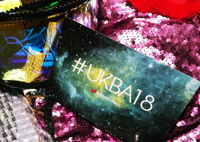 Winner Kiki Blah-Blah UK Blog Awards 2018