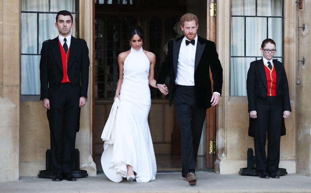 Prince Harry and Meghan Markle royal wedding - Reception