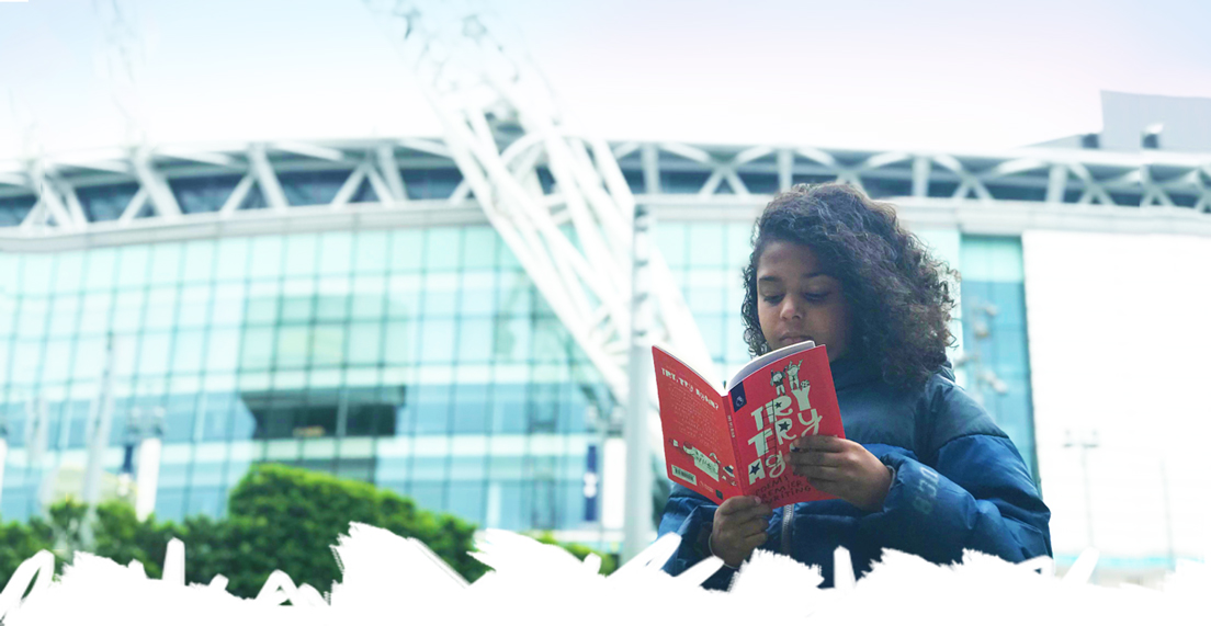 Premier League Primary Stars Try Try Again book of Poems - Wembley Stadium