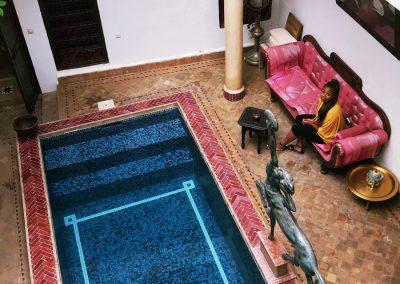 Riad El Zoha. Morocco, Marrakech, Ramadan - Sareta Fontaine ©