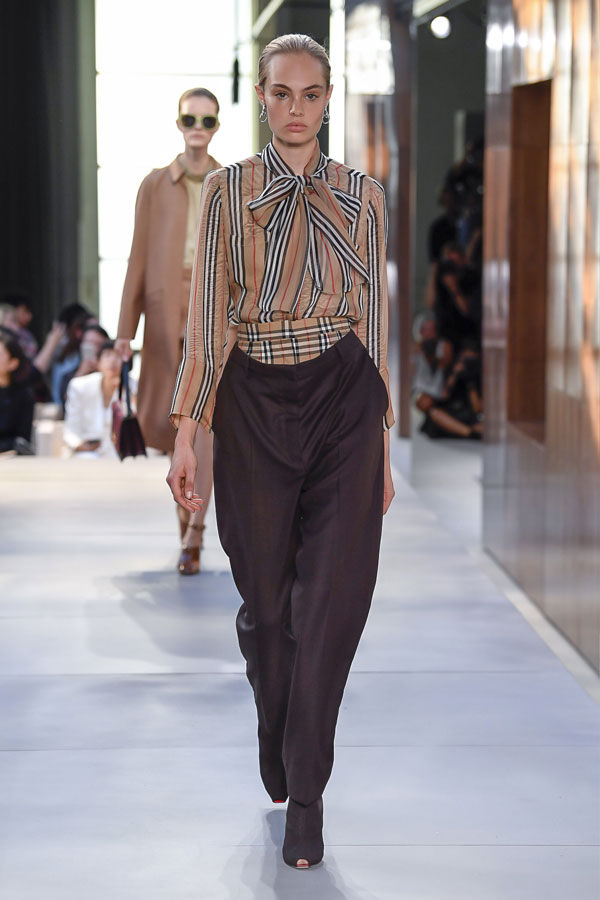 No leopard Print - Burberry Spring 2019 Ready to Wear