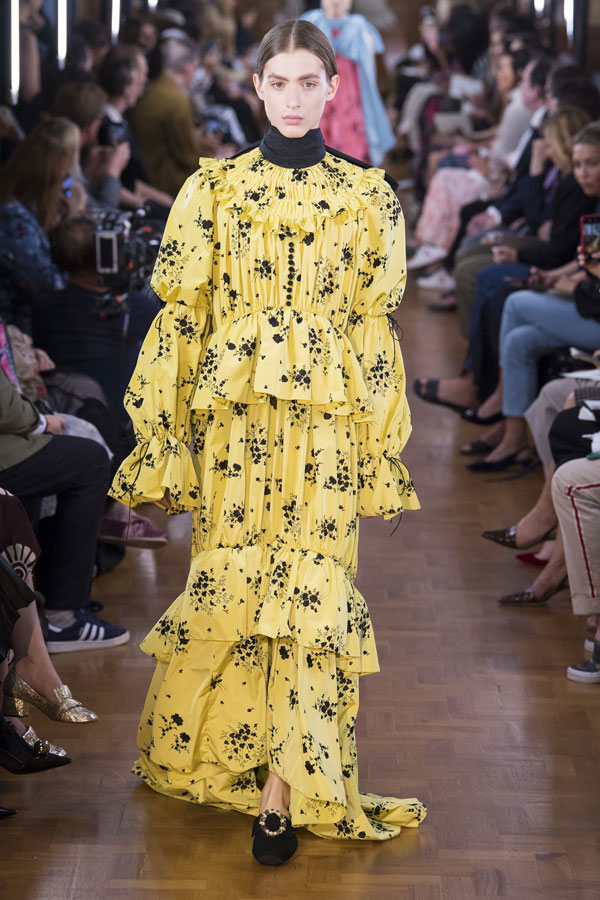 No Leopard Print - Erdem Spring 2019 Ready to Wear