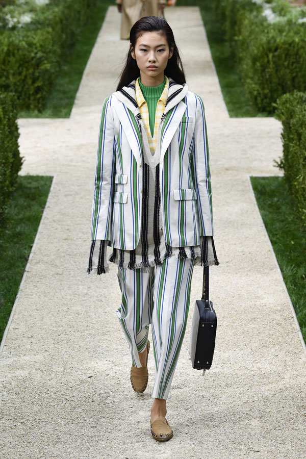 No Leopard Print - Tory Burch Spring 2019 Ready to Wear
