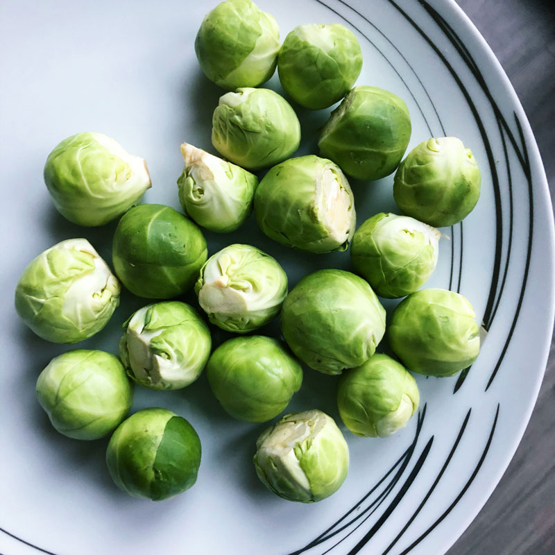 Traditional Christmas dinner usually includes Sprouts, which people either love or loathe. Here's a simple recipe which will mean fewer leftovers!
