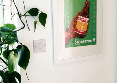 Kitchen- Plants - Supermalt Print by Nadia Akingbule- Decorating