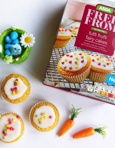 Dairy-Free Easter - Asda|Free From Tutti Fruitti fairy cakes