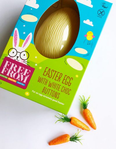 Dairy-Free Easter - Asda|Free From Easter Egg With Choc Buttons