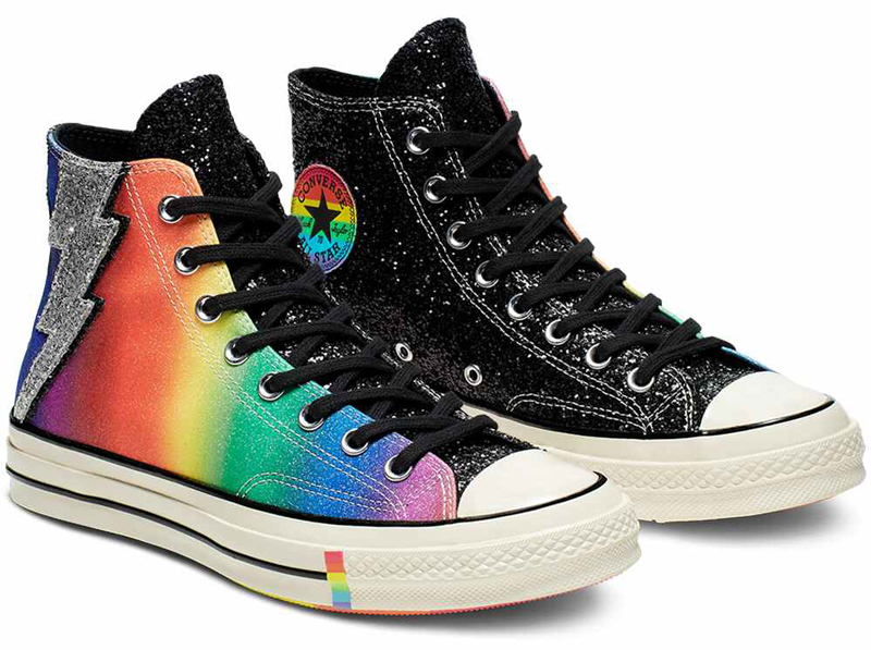 Converse -  Pride Brands you can trust to give back to the LGBTQ+ community