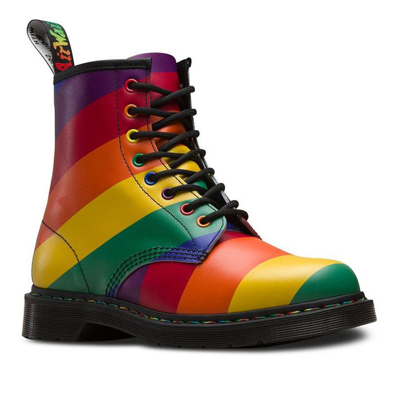 Dr Martens - Pride Brands you can trust to give back to the LGBTQ+ community