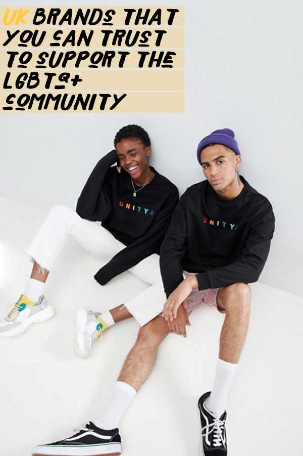 Pride Brands you can trust to give back to the LGBTQ+ community