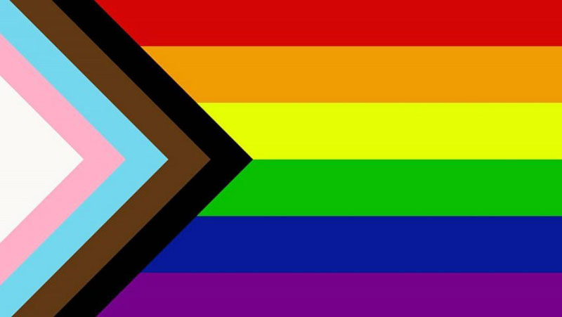 LGBTTQQIAAP - Graphic designer Daniel Quasar's re-booted Pride flag - LGBTQQIAAP - definitions and explanations.