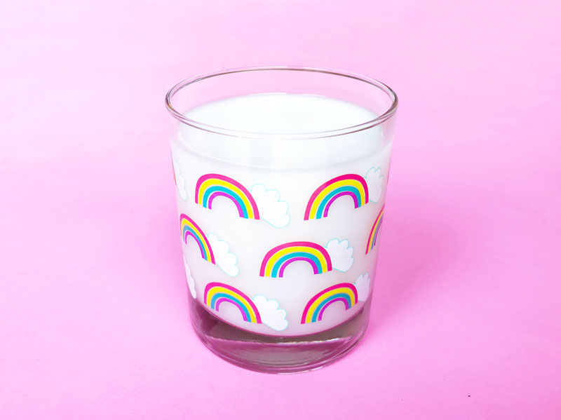 Rainbow glass - got milk? LGBTQQIAAP - definitions and explanations.