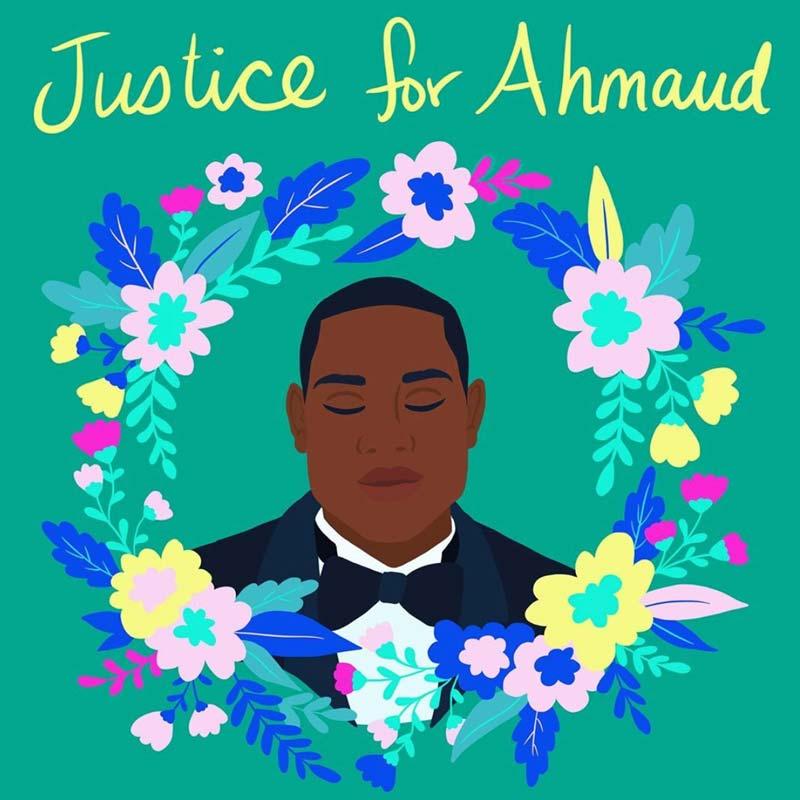 Black Lives Matter - Ahmaud Arbery - https://www.instagram.com/shirien.creates/
