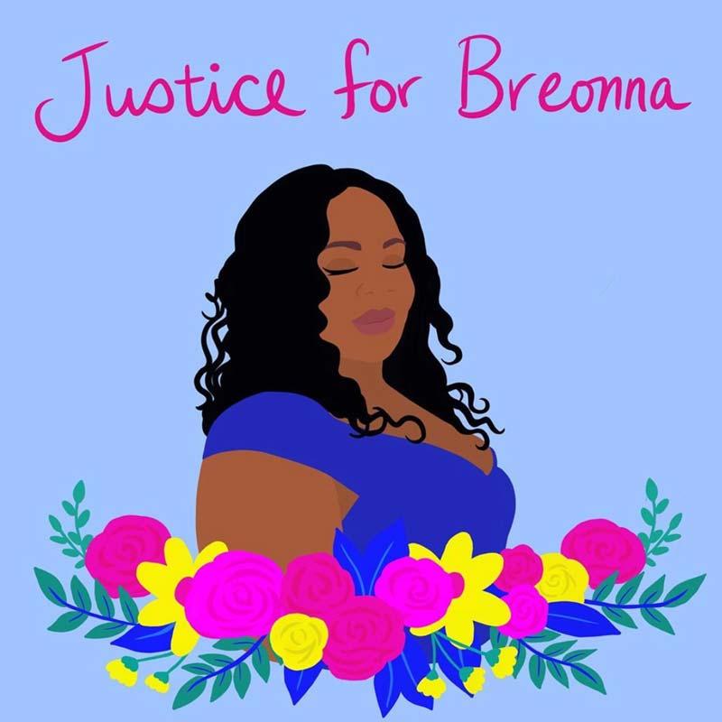 Black Lives Matter - Breonna Taylor - https://www.instagram.com/shirien.creates/