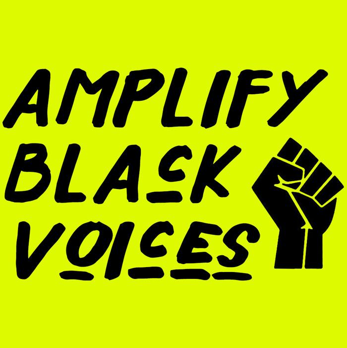 Amplify Black Voices - Sareta Fontaine