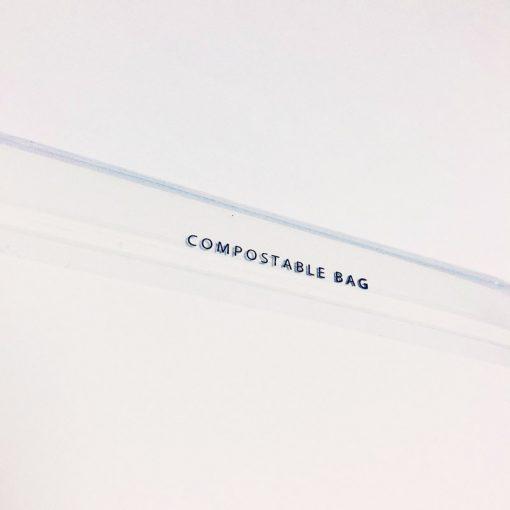 Compostable cellophane bag