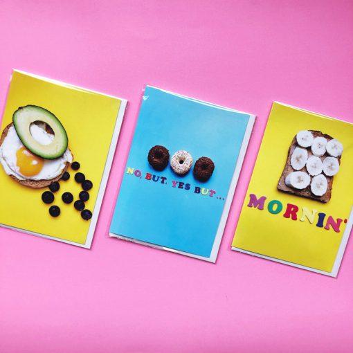 Mornin' greetings cards