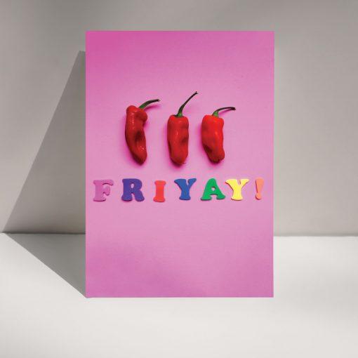 Friyay! Greetings card