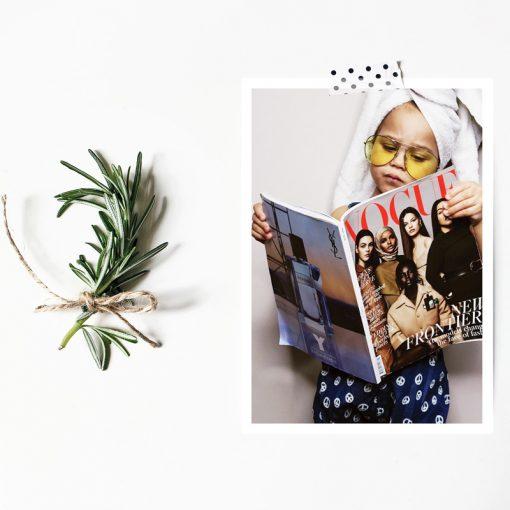 Vogue Darling! Postcard