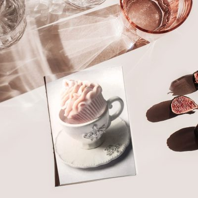 Cupcake in a cup - Blank Greetings card
