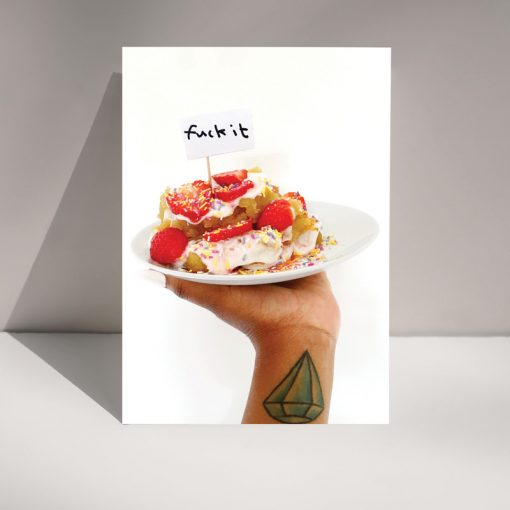 Eff it! - Blank Greetings card