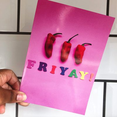 Friyay! We made it!