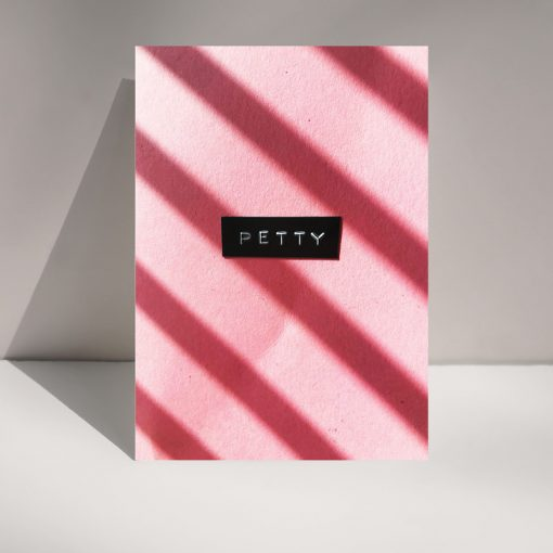 Petty - greetings card