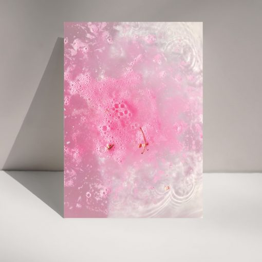 Pink Fizz greetings card